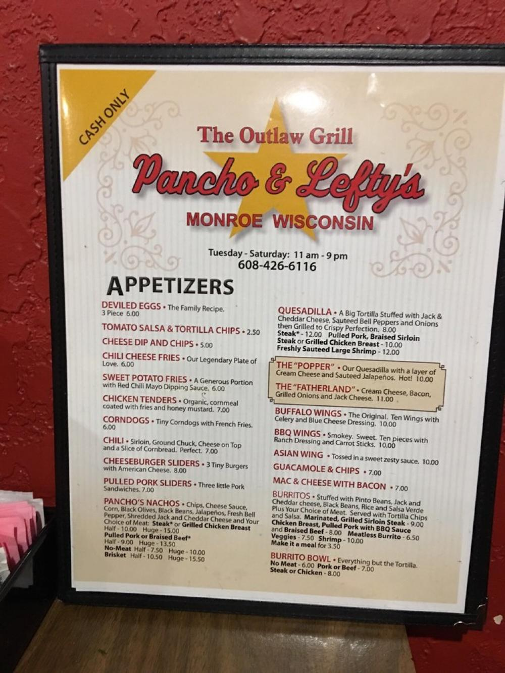 Pancho and Lefty's Restaurant